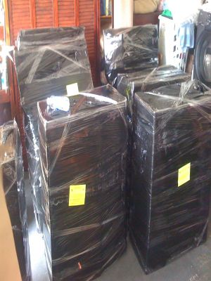 Packing Wrapping Furniture Cabinets - Packing Service Inc