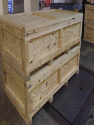 Wooden Crates - Packing Service Inc