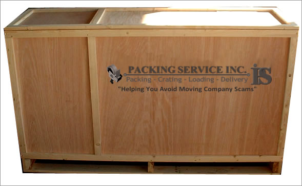 Crating Services | Crate and Freight | Wood shipping Crates